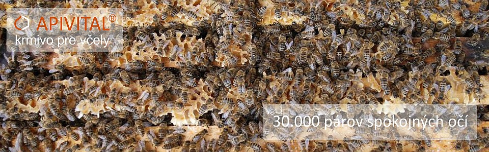 APIVITAL® sirup - krmivo pro včely, které je zaručeně čisté, bezpečné, levné a pohodlné jak pro včely, tak pro včelaře